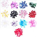 B6211 Mini Craft Buttons: Round: - Full Colour Range